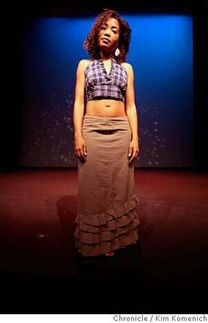 Raelle Myrick-Hodges is the new Artistic Director at Brava Theater Center in San Francisco. She is photographed in the theater.  Photo by Kim Komenich/San Francisco Chronicle MANDATORY CREDIT FOR PHOTOG AND SAN FRANCISCO CHRONICLE. NO SALES- MAGS OUT. Photo: KIM KOMENICH