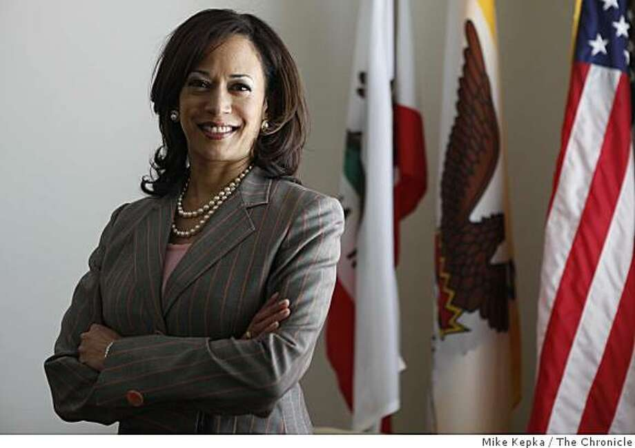 Kamala Harris, District Attorney for San Francisco, stands for a portrait in her Hall of Justice office on Tuesday April 28, 2009 in San Francisco, Calif. Photo: Mike Kepka, The Chronicle