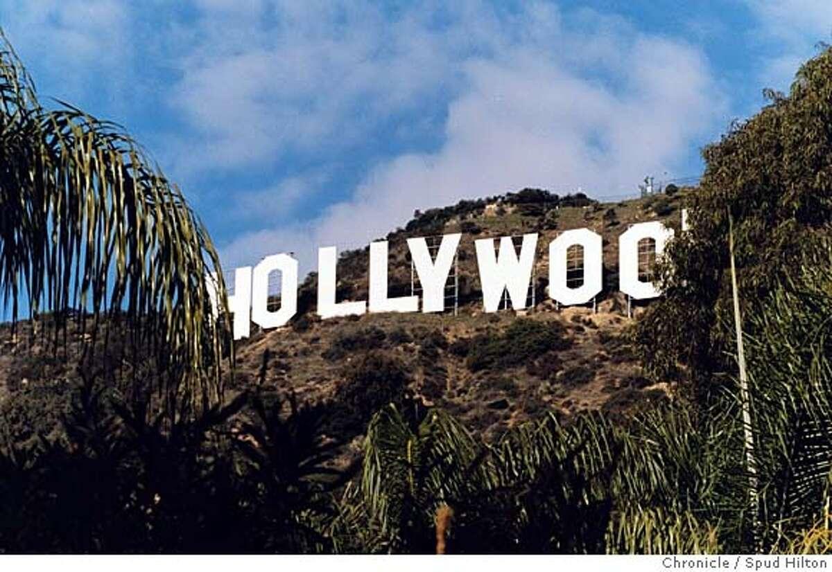 TRAVEL HOLLYWOOD -- Hollywood sign. (Ya think?) Credit: Spud Hilton / The Chronicle 2002