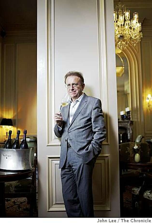 SFISJULY_Spirited_06_JOHNLEEPICTURES.JPG Richard Geoffroy (cq), Chef de Cave at Dom Pérignon, standing inside the Lobby Lounge at the Ritz-Carlton in San Francisco.By JOHN LEE/SPECIAL TO THE CHRONICLE Photo: John Lee, The Chronicle