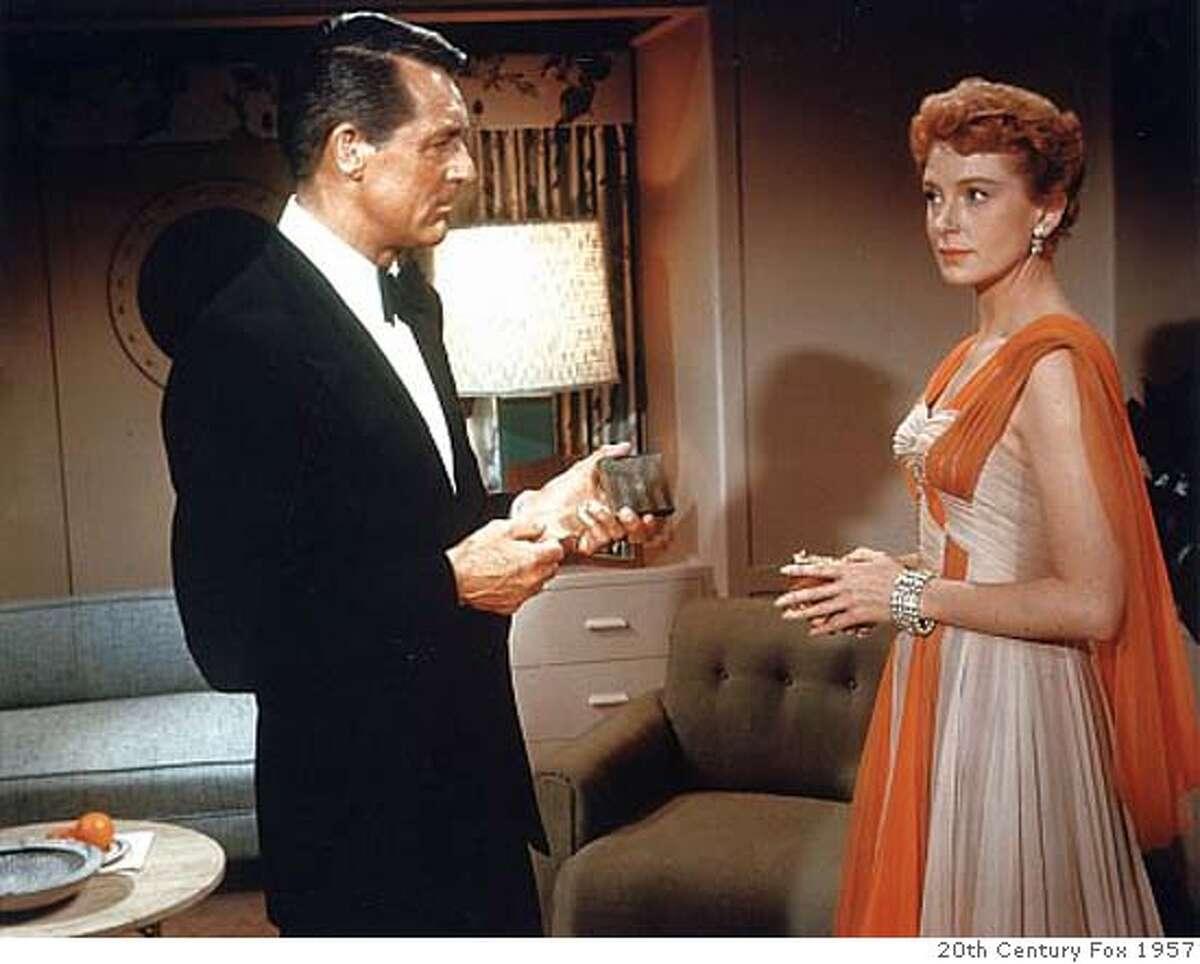 Cary Grant and Deborah Kerr in
