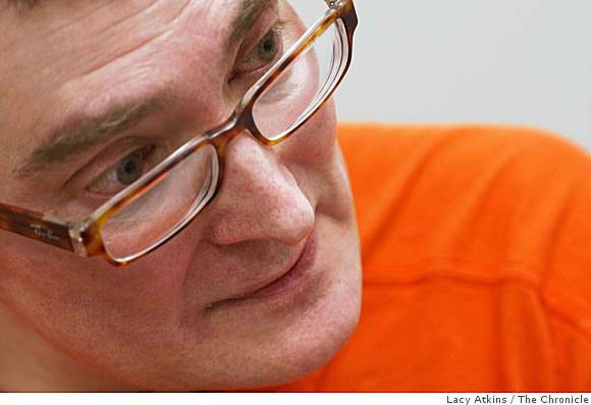 Duane Allen Hoffman talks about his life, Monday April 27, 2009, in the County Jail in San Francisco, Calif.