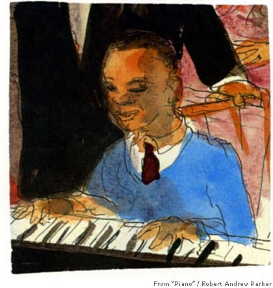 "Illustration from Robert Andrew Parker's book ""Piano Starts Here"" Photo: Robert Andrew Parker"