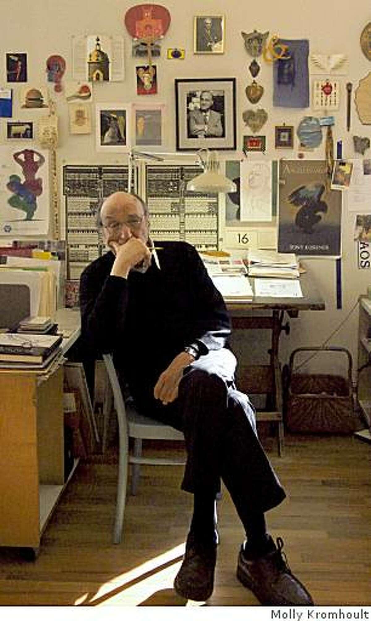 Portrait of Milton Glaser.