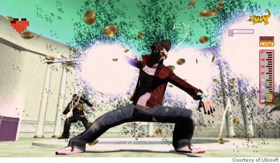 "Image of the ""No More Heroes"" protagonist, Travis Touchdown.  No More Heroes for the Nintendo Wii  Courtesy of Ubisoft Photo: Courtesy Of Ubisoft"