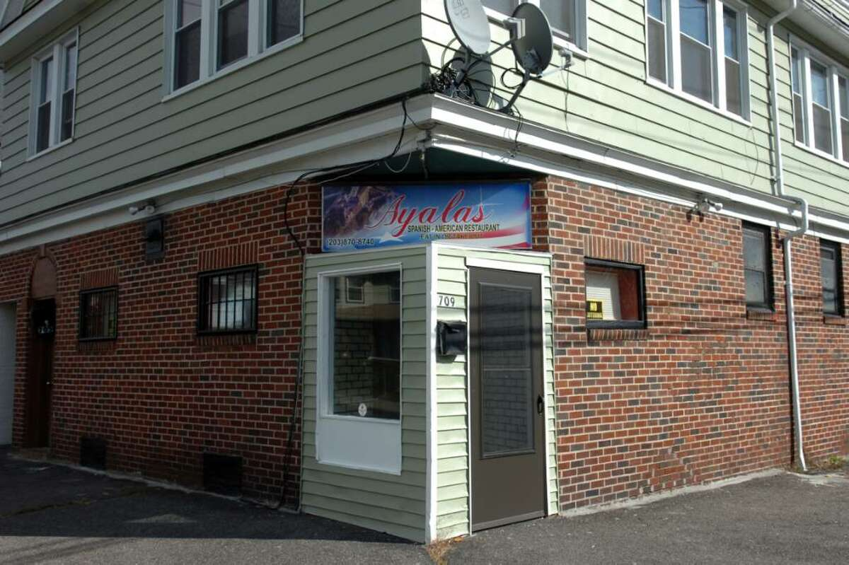 Ayala's Restaurant on Beechwood Ave. in Bridgeport, Conn. Nov. 6th, 2009.