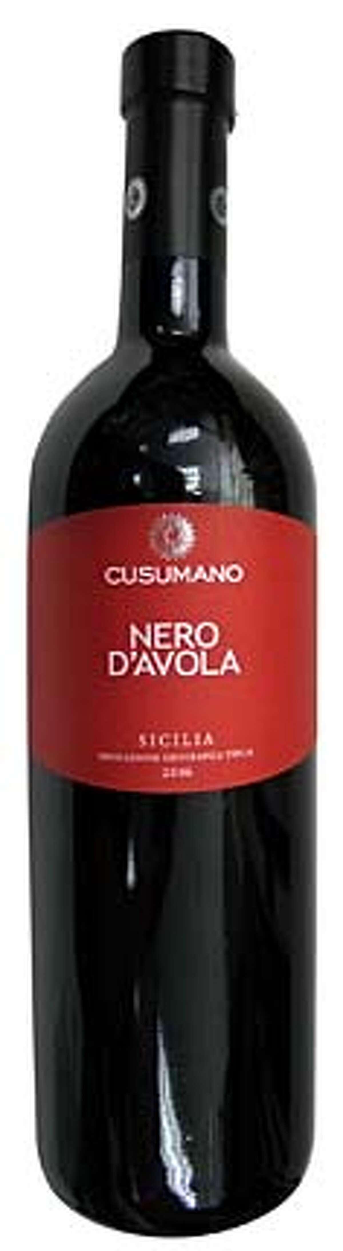 IN OUR GLASSES: Cusumano Nero D'Avola Sicilia Indicazione Geografica Tipica 2006