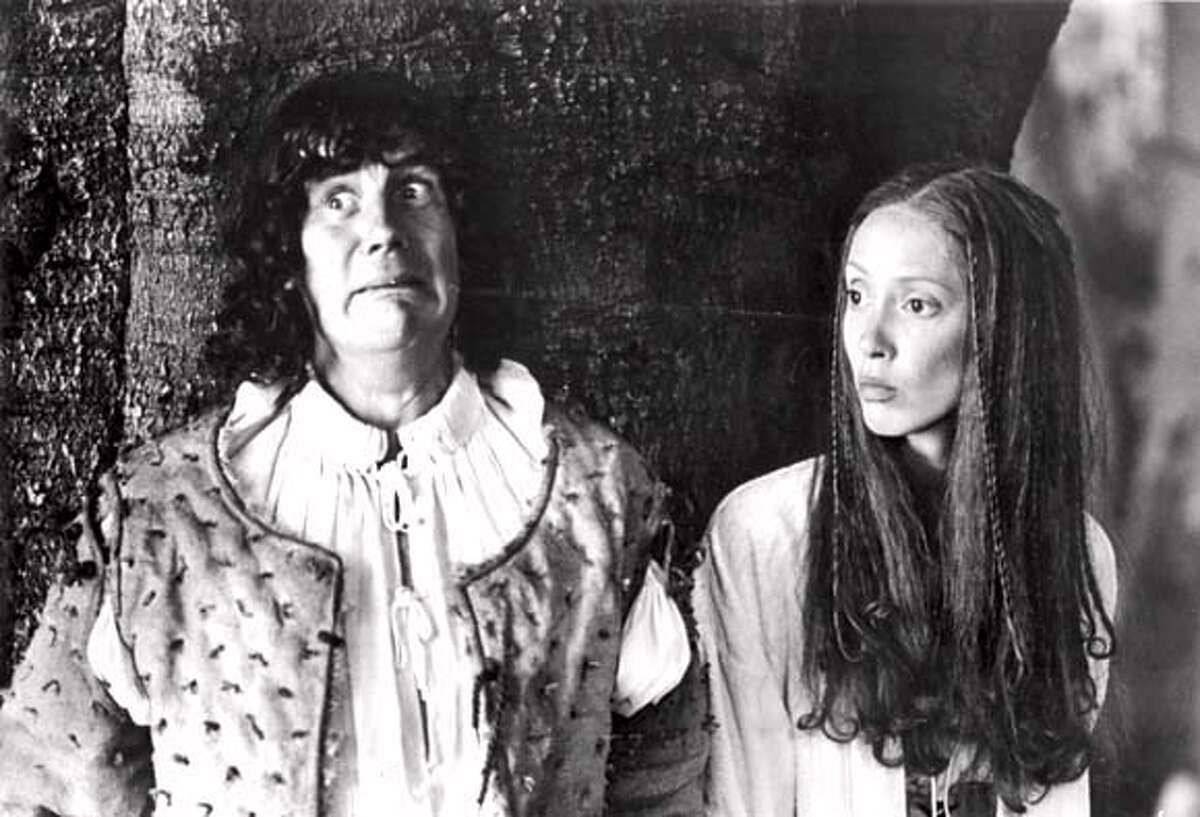 Michael Palin and Shelley Duvall in