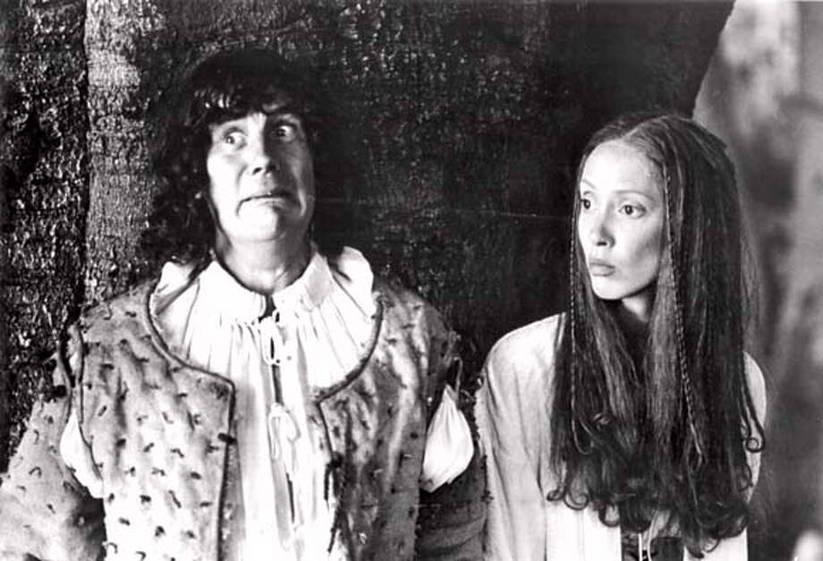 """Michael Palin and Shelley Duvall in """"Time Bandits""""  HO from photo files. Photo: HO"""