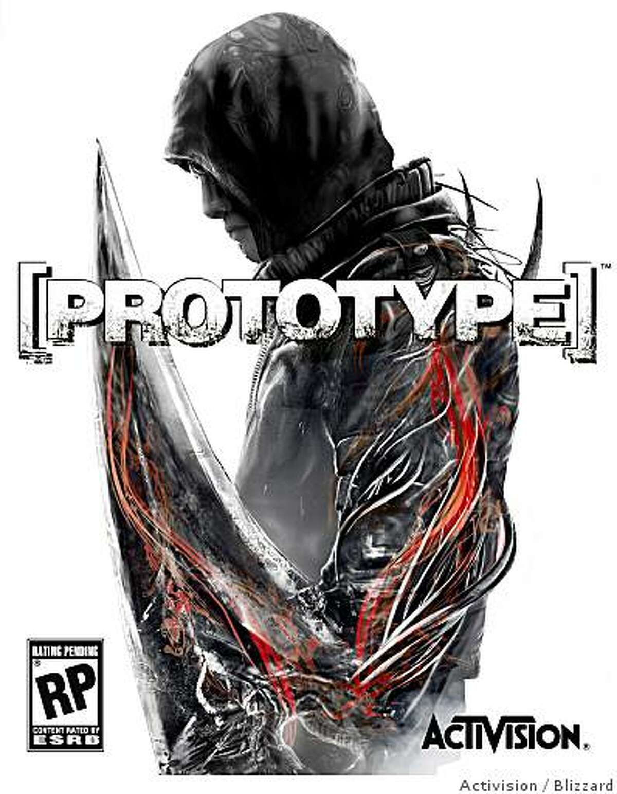 Box art for Prototype, for PC, PS3 and Xbox 360