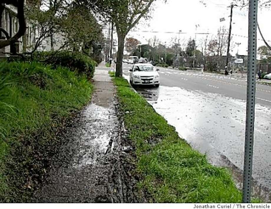 MLK Jr. way near Oregon in berkeley Photo: Jonathan Curiel, The Chronicle