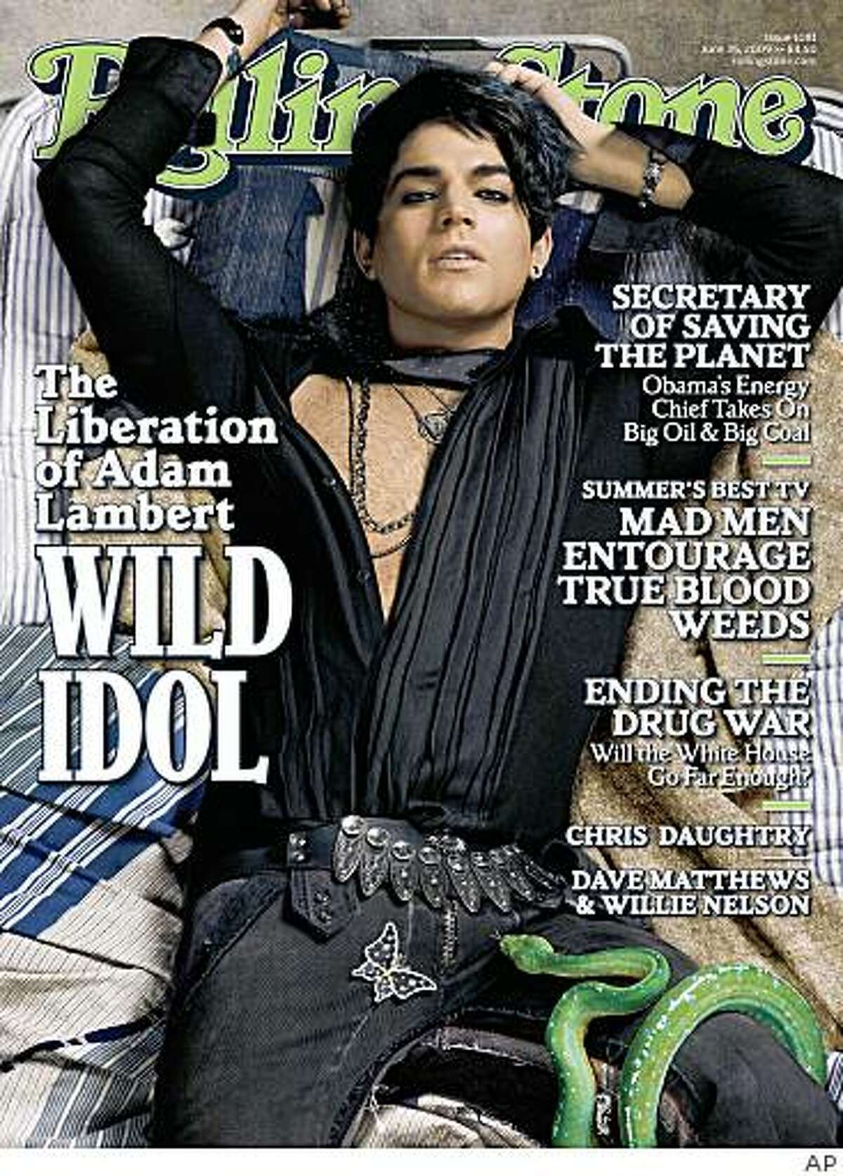 In this magazine cover image released by Rolling Stone,
