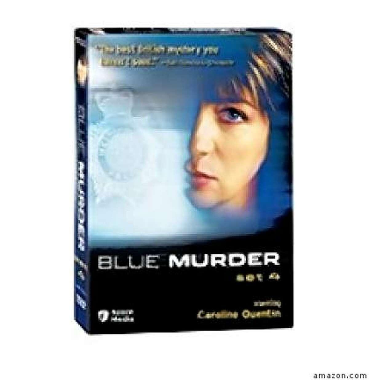 dvd cover: BLUE MURDER: SET 4