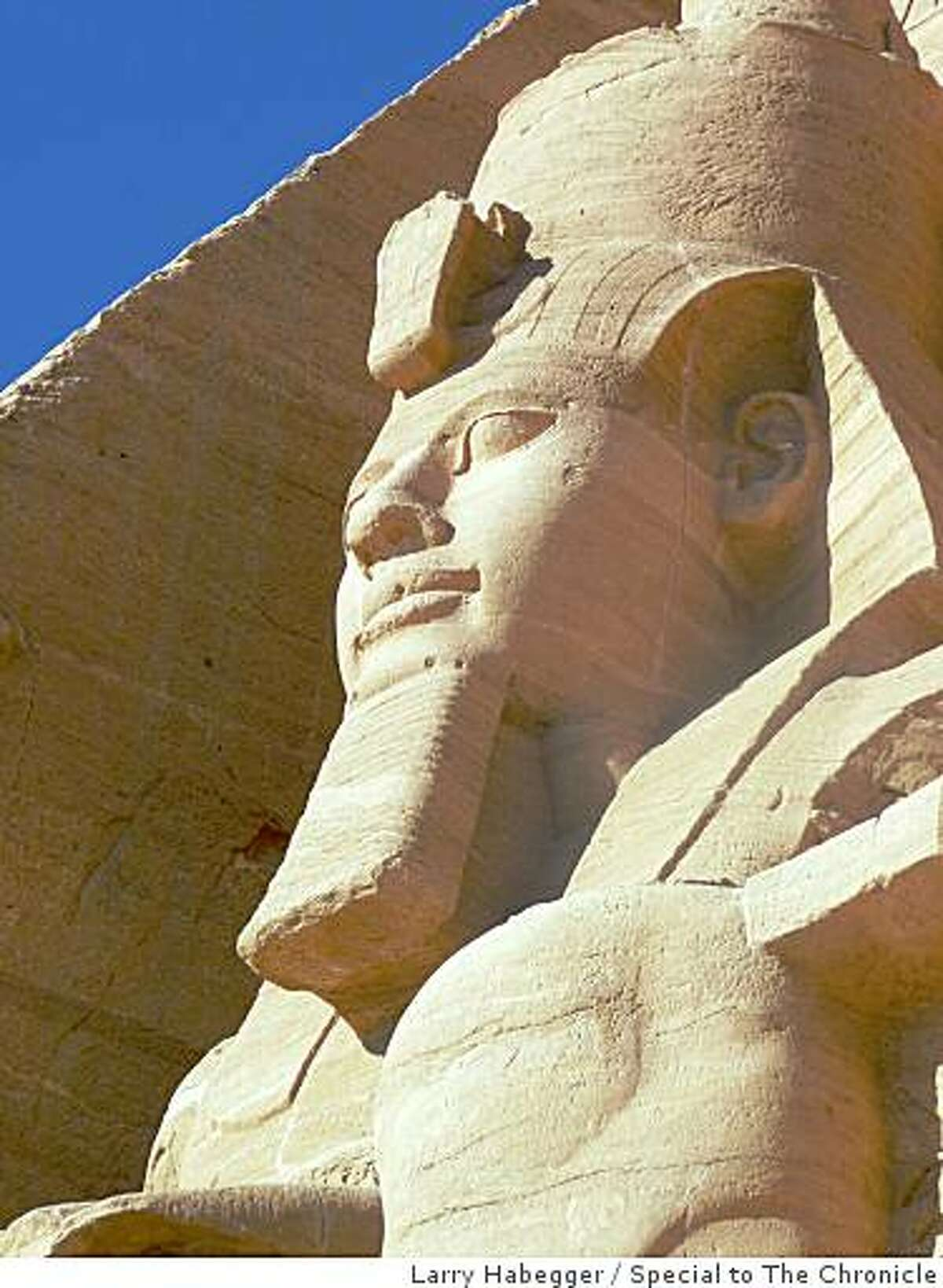 TRAVEL EGYPT NILEColossus of Ramses II at Abu Simbel