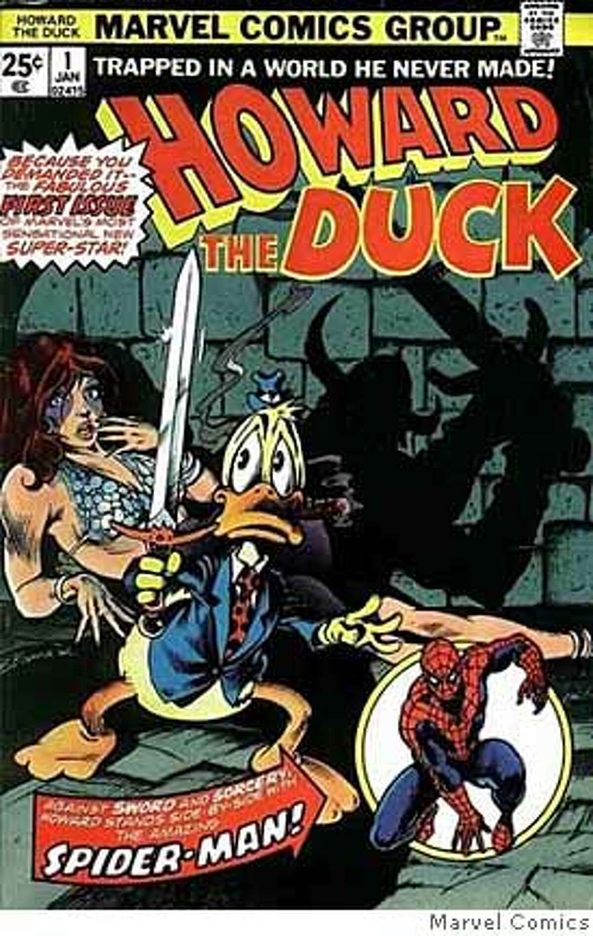 (NYT34) UNDATED -- Feb. 14, 2008 -- OBIT-GERBER -- Steve Gerber, who created Howard the Duck, the dour, dyspeptic, utterly disagreeable and therefore wildly popular comic-book hero of the 1970s, died on Sunday in Las Vegas. He was 60 and lived in Las Vegas. The cover of
