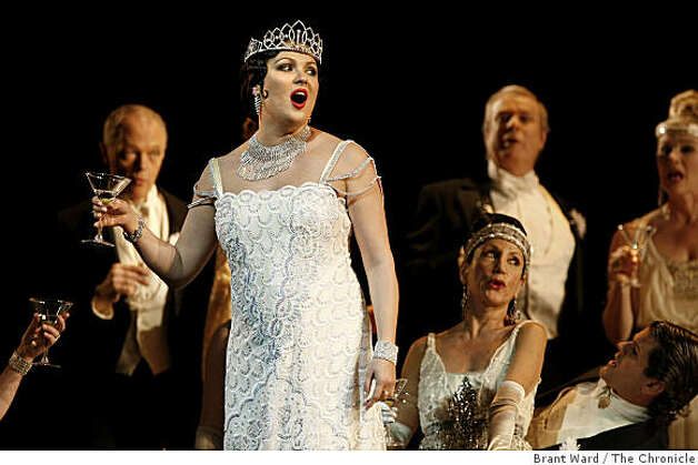 Anna netrebko an opera superstar but no diva sfgate - Anna netrebko casta diva ...