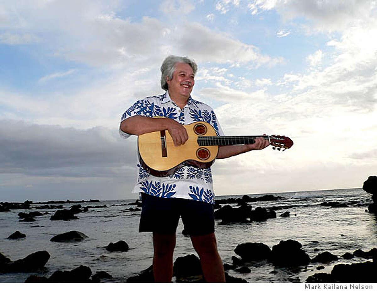 TRAVEL ALOHA FRIDAY -- Grammy-winning Hawaiian slack-key guitarist Keola Beamer leads music camps on the island of Molokai.