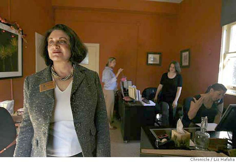 Linda Leary, owner of Reliable Caregivers Inc., a SF home-health agency, at her office.  Photo by Liz Hafalia/San Francisco Chronicle �2008, San Francisco Chronicle/ Liz Hafalia  MANDATORY CREDIT FOR PHOTOG AND SAN FRANCISCO CHRONICLE. NO SALES- MAGS OUT. Photo: Liz Hafalia