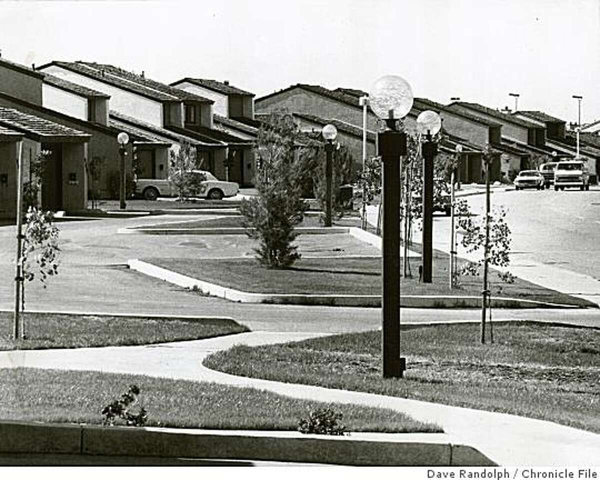 insight14_Lewis.jpg Aug. 22, 1974 - A view of Foster City, San Mateo County.Dave Randolph Chronicle File
