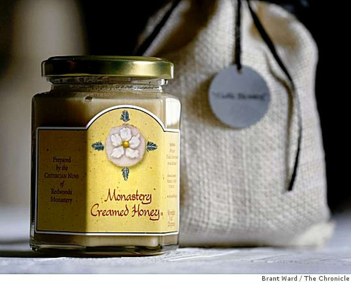 Jeanne Cole got her inspiration for Holy Orders with this honey from Northern California. Jeanne Cole, a former film executive, started an online gift business called Holy Orders. She runs it out of her home in Petaluma, CA
