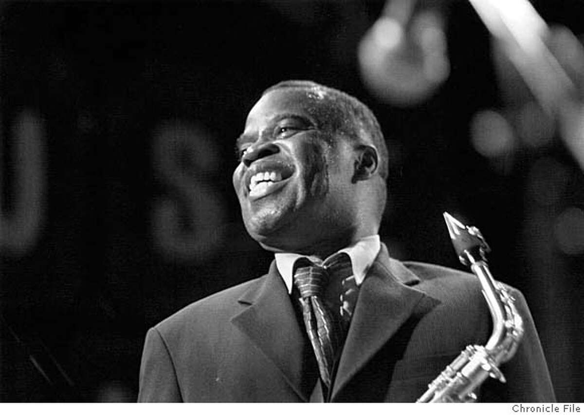 THIS IS A IMAGE. PLEASE VERIFY RIGHTS. PARKER-B-18JAN02-DD-HO Maceo Parker.