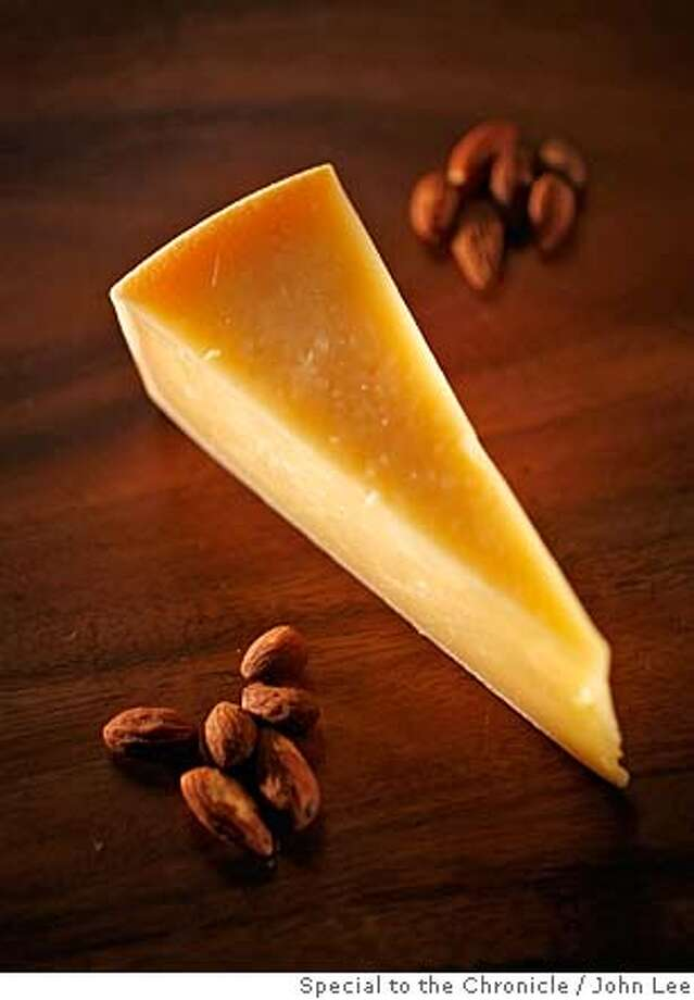 CHEESE15_JOHNLEE.JPG  Hirtenkase (German cow's milk) cheese.  By JOHN LEE/SPECIAL TO THE CHRONICLE Photo: John Lee