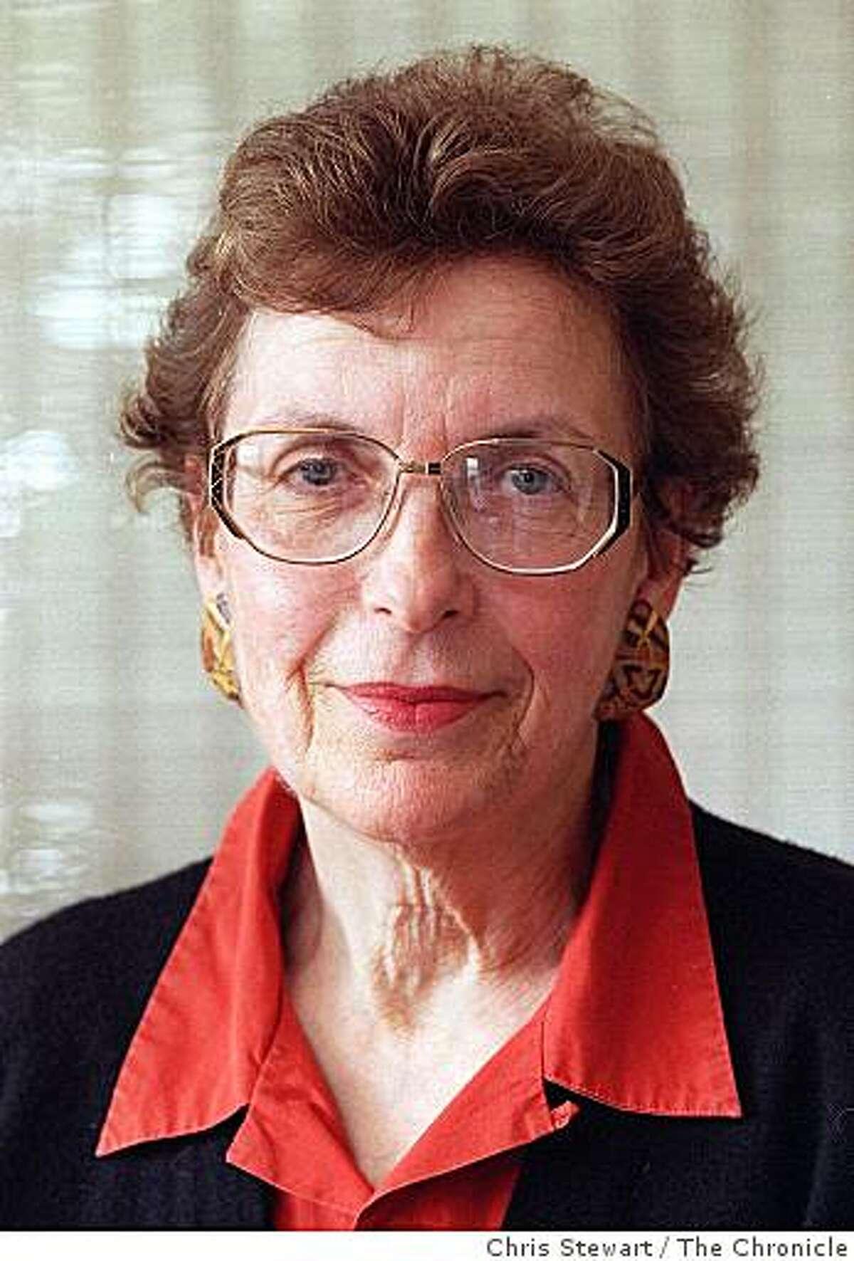 Amy Meyer, former Presidio trustee.