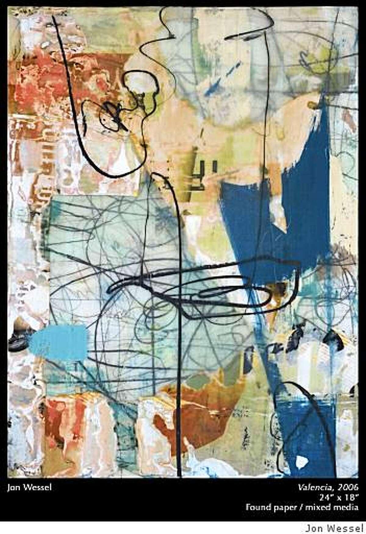 Jon Wessel painting