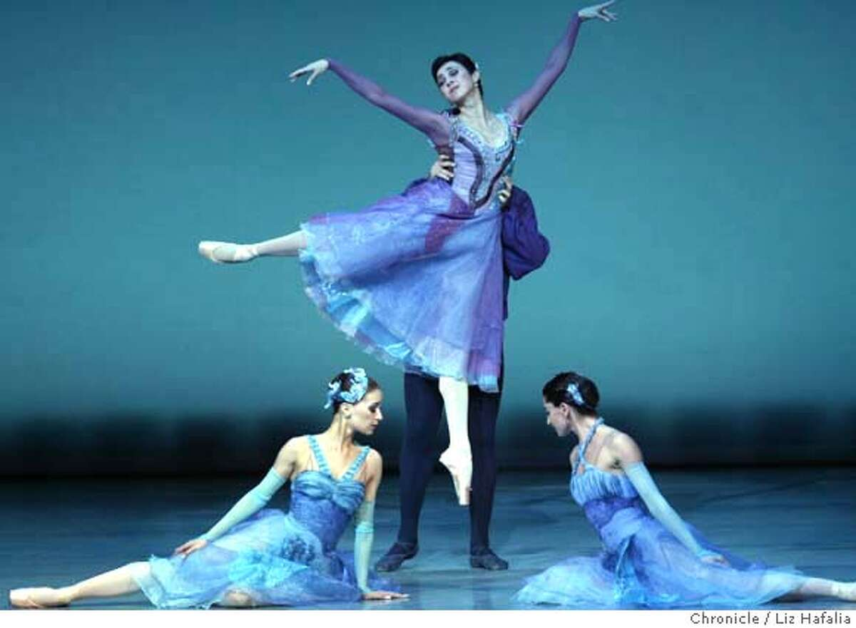 State Ballet of Georgia on its opening night at Zellerbach Hall. Photo by Liz Hafalia/San Francisco Chronicle �2008, San Francisco Chronicle/ Liz Hafalia MANDATORY CREDIT FOR PHOTOG AND SAN FRANCISCO CHRONICLE. NO SALES- MAGS OUT.
