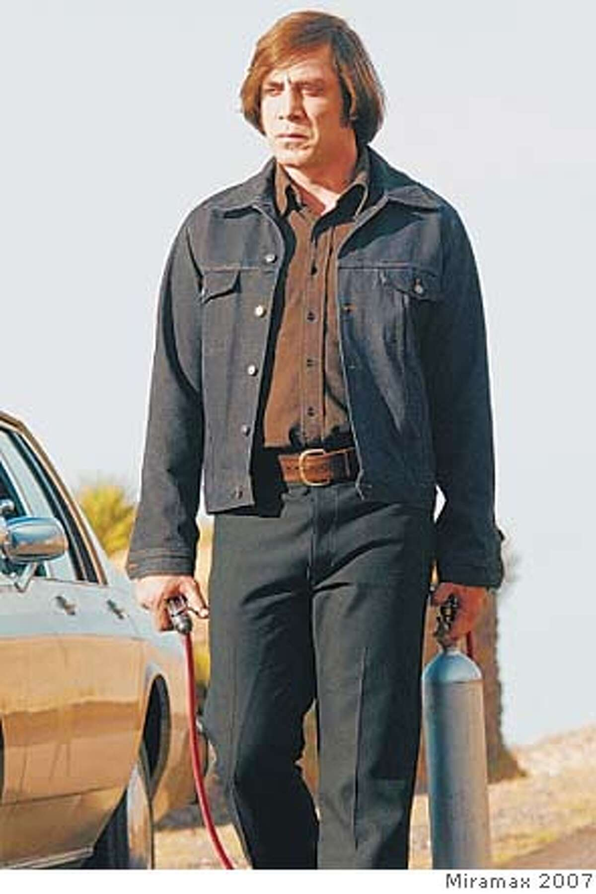 Javier Bardem in �No Country for Men