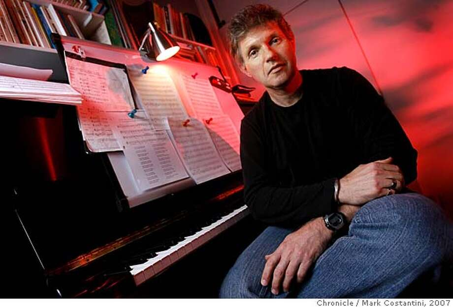 portrait shot of composer Jorge Liderman to run with interview profile.  photo: Mark Costantini / San Francisco Chronicle  Event on 3/6/07 in Richmond, CA  Ran on: 03-18-2007  Composer Jorge Liderman was born in Argentina, trained in Israel and came to artistic maturity in the United States.  Ran on: 03-18-2007 ALSO Ran on: 11-20-2007  Jorge Liderman was feted in Berkeley's Hertz Hall.  Ran on: 02-04-2008  Jorge Liderman Photo: Mark Costantini