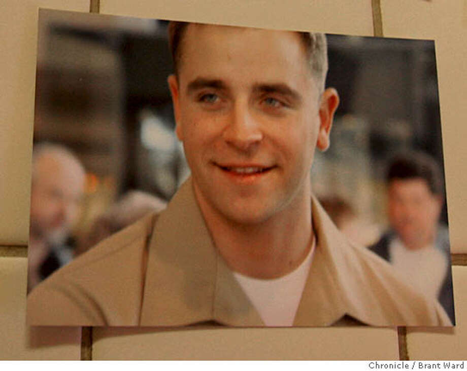 A series of pictures of Sean Stokes with his fiancee Nicole Besier, his father and brother. Sean Stokes was given a silver star medal for bravery in combat at a recent awards ceremony. He was killed on his third tour of Iraq.  (Photo by Brant Ward/San Francisco Chronicle)  Ran on: 02-16-2008  Sue and Gary Stokes proudly display the Silver Star that Sean was presented posthumously for bravery under fire in Iraq.  Ran on: 02-16-2008 Photo: Brant Ward