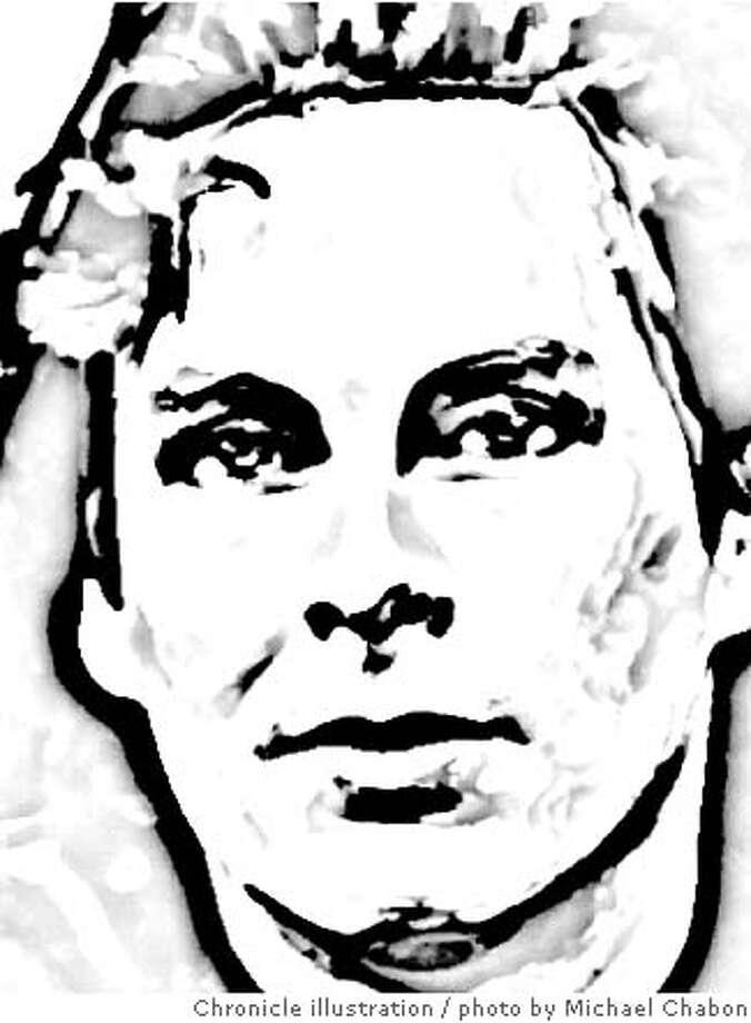 Michael Chabon. Chronicle photo illustration