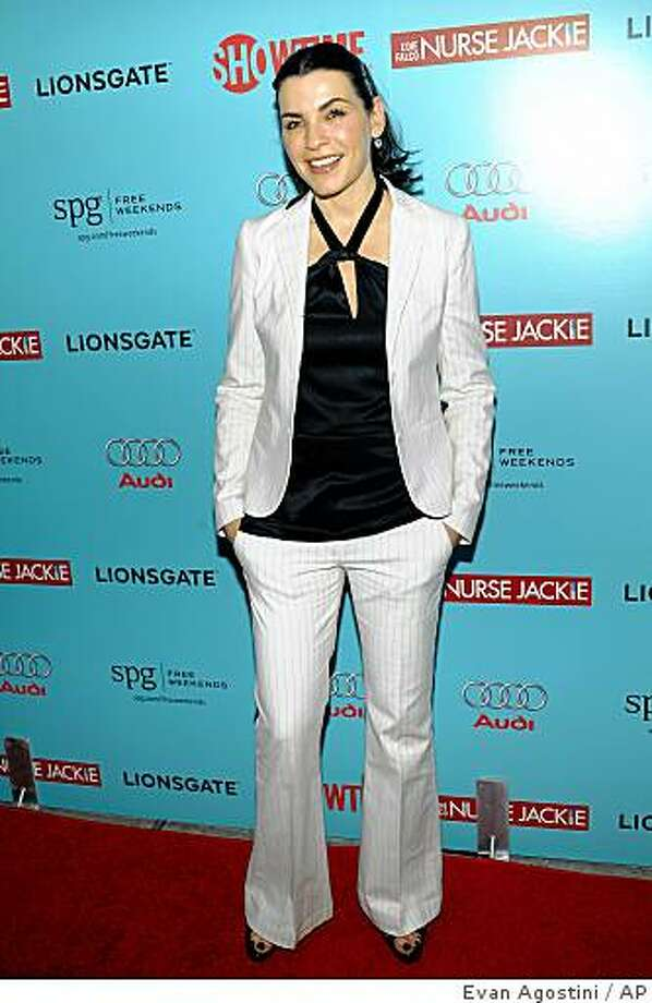 Actress Julianna Margulies attends the world premiere of Showtime's new comedy series 'Nurse Jackie' at the DGA Theater on Tuesday, June 2, 2009 in New York. Photo: Evan Agostini, AP