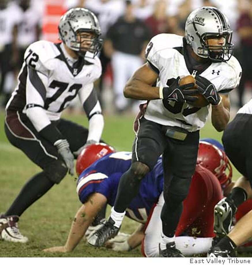 Top Cal recruit Covaughn DeBoskie. He's a running back from Hamilton High School in Chandler, Arizona. East Valley Tribune / Courtesy to The Chronicle j=hamilton.1212 s=6.Publish Photo: East Valley Tribune