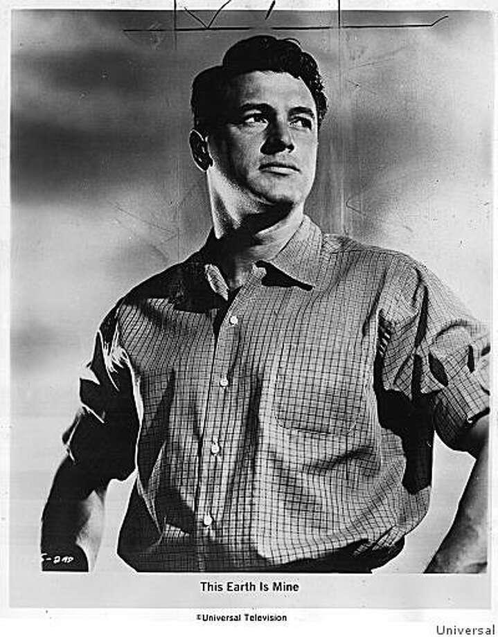 "Rock Hudson In ""This Earth is Mine"" 1959 Photo: Universal"