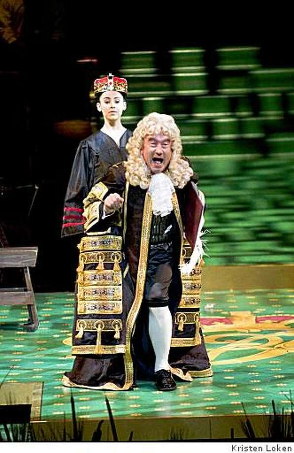 "Baritone Richard Suart as Lord Chancellor in Gilbert and Sullivan's ""Iolanthe"" at the San Francisco Symphony Photo: Kristen Loken"