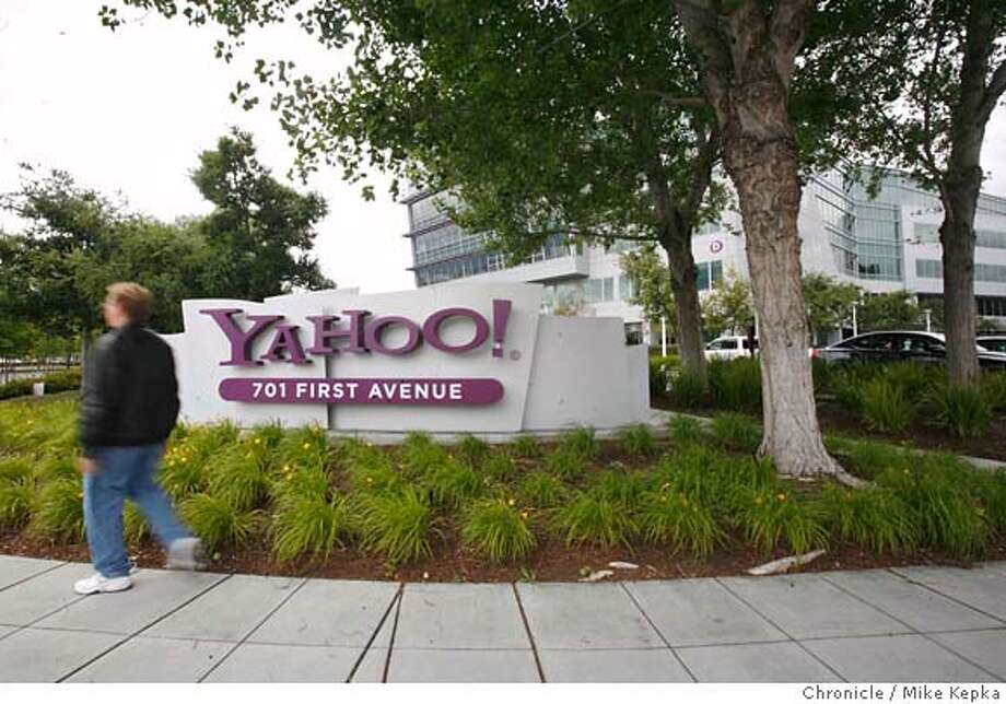 yahoo000053_mk.JPG The main Yahoo Campus at 701 First Avenue Sunnyvale, California.  Mike Kepka / The Chronicle (cq) the family MANDATORY CREDIT FOR PHOTOG AND SF CHRONICLE/NO SALES-MAGS OUT Photo: Mike Kepka