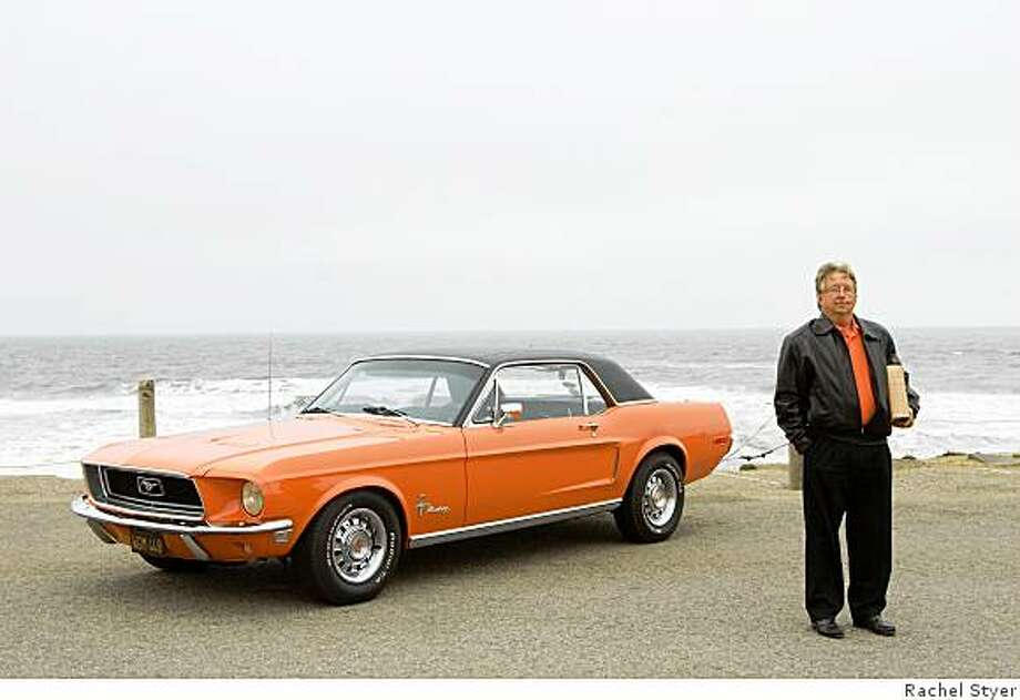 John Blackburn named his 1968 Mustang ?Gracie? in honor of his mother. ?To know Gracie is to know my Mom, Grace Blackburn,? he says. ?She was colorful, all style, lots of flair and had an eye for design.? Photo: Rachel Styer