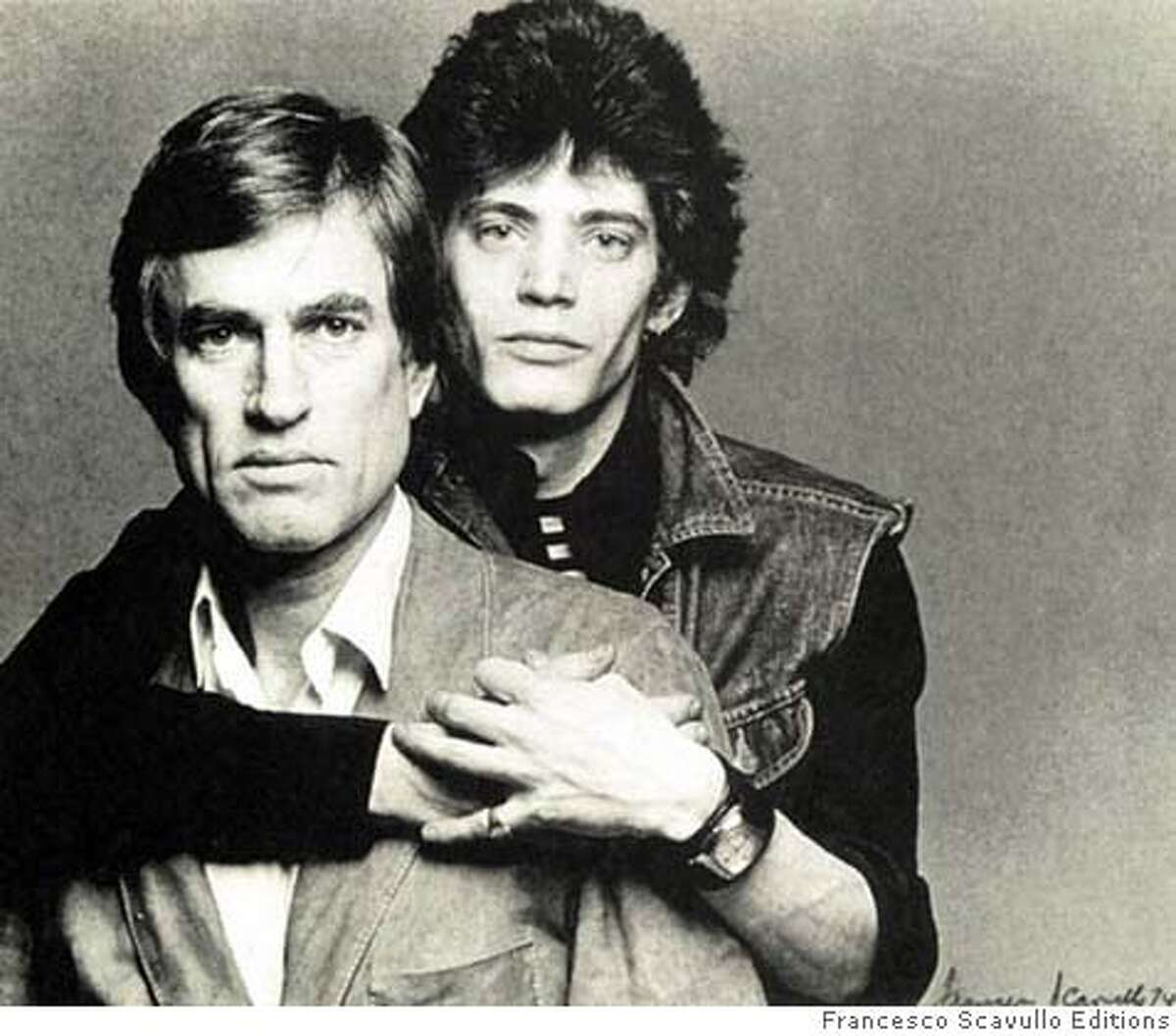 Black White Gray: A Portrait Of Sam Wagstaff And Robert Mapplethorpe. CR: Francesco Scavullo Editions Ran on: 02-01-2008 Sam Wagstaff (left) was a collector who championed, and left his fortune to, Robert Mapplethorpe.
