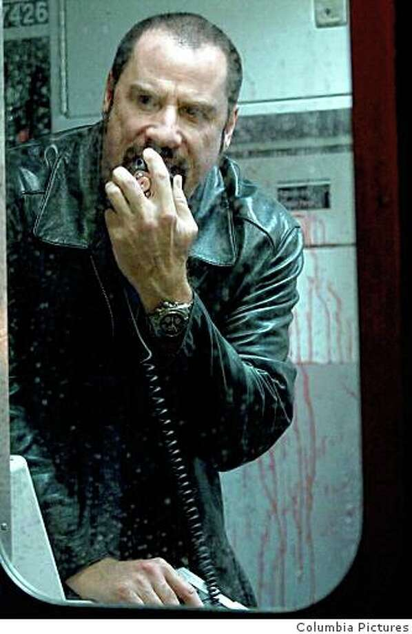 "John Travolta in ""The Taking of Pelham 123"" Photo: Columbia Pictures"