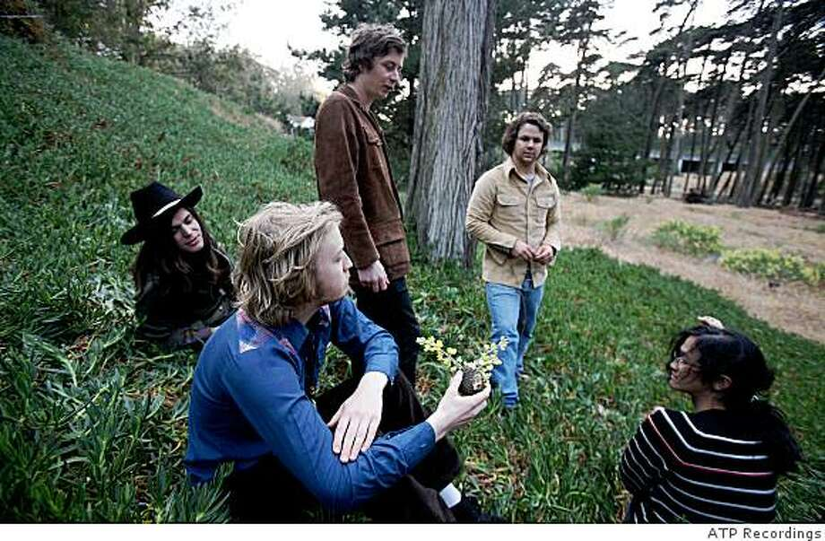 San Francisco psychedelic rockers Sleepy Sun play a record release show at the Great American Music Hall on Friday, June 19. Photo: ATP Recordings