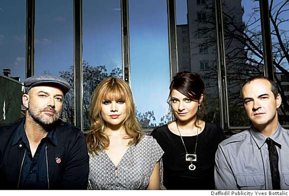 Nouvelle Vague takes hits from the '80s and gives them a jazzy ?60s pop makeover. Photo: Daffodil Publicity Yves Bottalic