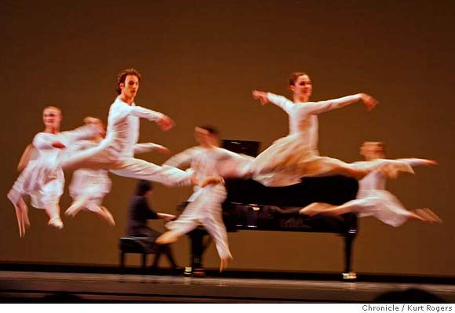 From DRINK TO ME ONLY WITH THIN EYES.  Natal'ya Feygina. Piano  San Francisco Ballet Program 2  DIVERTIMENTO NO.15  DRINK TO ME ONLY WITH THIN EYES  FIREBIRD.  Kurt Rogers / The Chronicle MANDATORY CREDIT FOR PHOTOG AND SAN FRANCISCO CHRONICLE/NO SALES-MAGS OUT Photo: Kurt Rogers