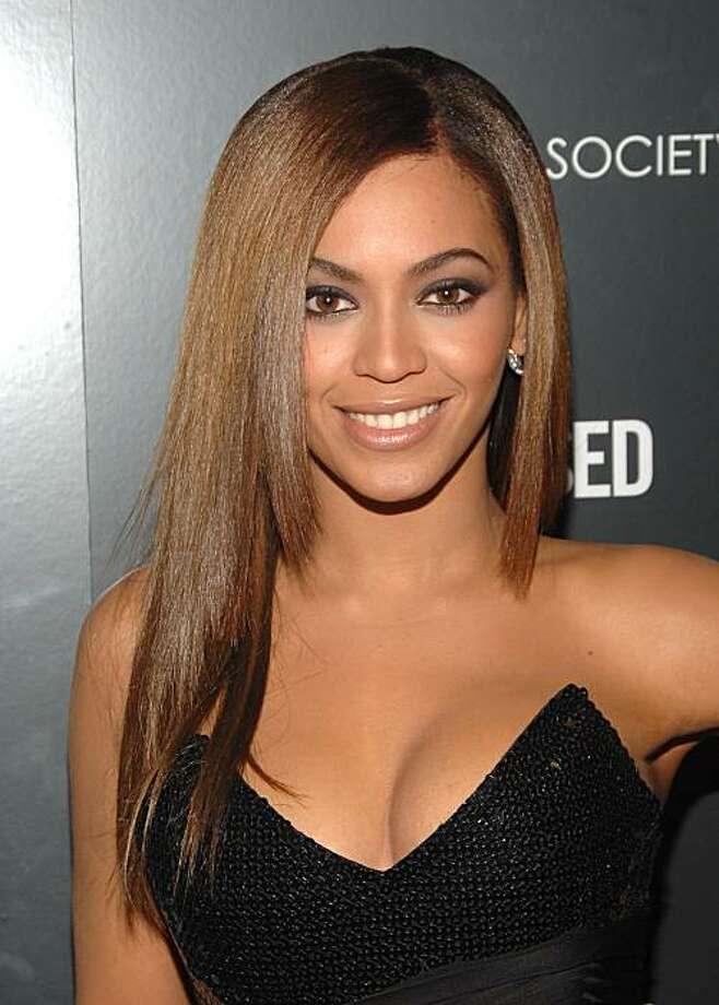 "FILE - In this April 23, 2009 file photo, actress Beyonce Knowles attends the Cinema Society premiere of ""Obsessed"", in New York.  (AP Photo/Peter Kramer, file) Photo: Peter Kramer, AP"