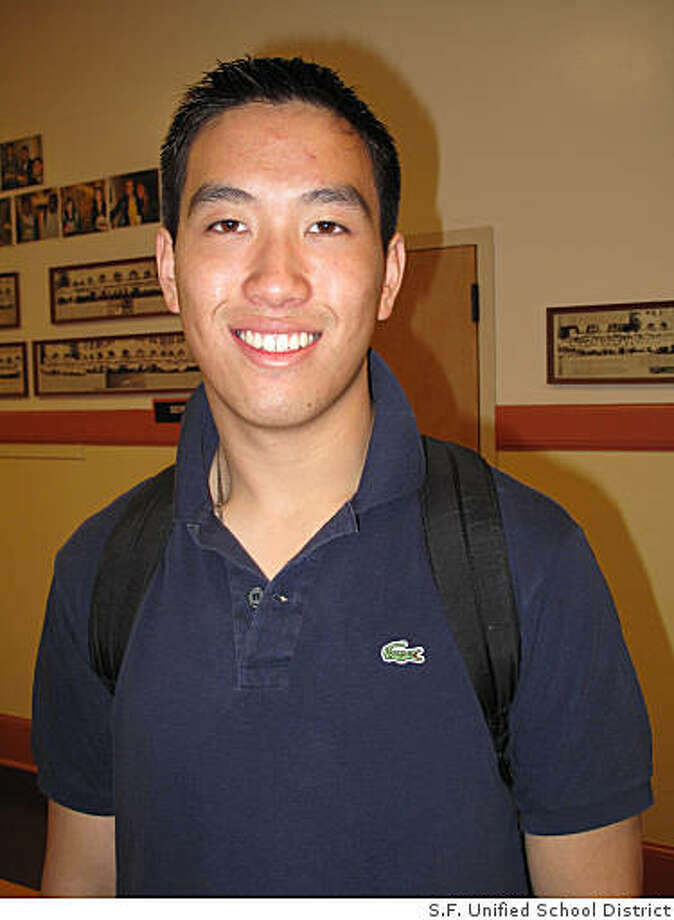 Carlos Cheung is one of two 2009 valedictorians from Mission High in San Francisco.144_valedictorians07 Photo: S.F. Unified School District