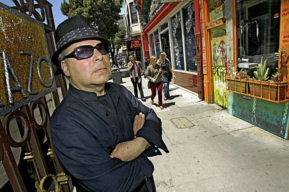 San Francisco poet August Kleinzahler, who recently won the National Book Critics Circle Award lives the Haight where he most of his ideas for his work on May 25, 2009. Photo: Frederic Larson, The Chronicle