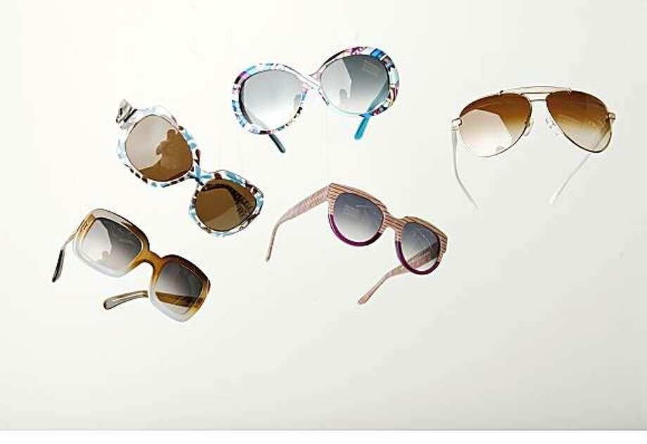Sunglasses for SFiSPhotographed by Mike Kepka Photo: Mike Kepka