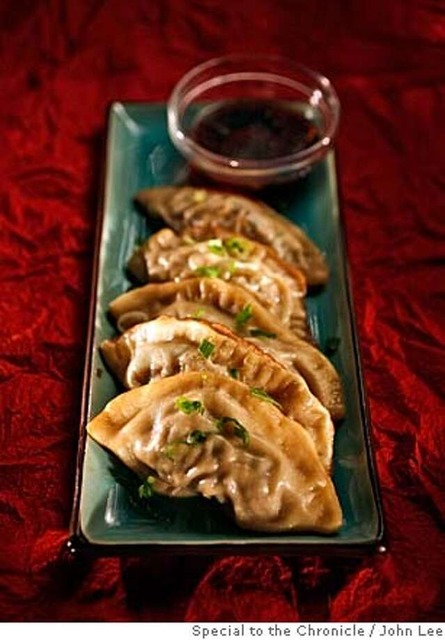 PAIRINGS08_JOHNLEE.JPG  Chinese steamed pork dumplings. To go with Carneros pinot noir.  By JOHN LEE/SPECIAL TO THE CHRONICLE Photo: John Lee