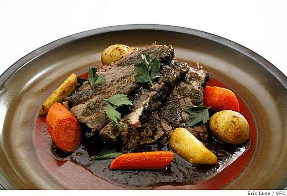 A good pot roast always warms you up. Photo: Eric Luse, SFC